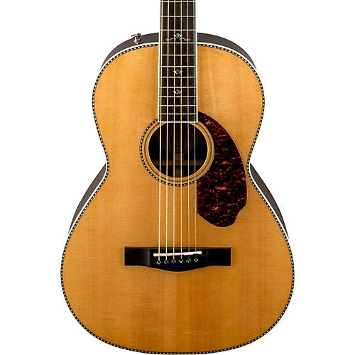 fender paramount series pm 2 deluxe parlor acoustic electric guitar musician 39 s friend. Black Bedroom Furniture Sets. Home Design Ideas