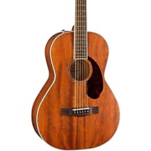 Open BoxFender Paramount Series PM-2 Standard All-Mahogany Parlor Acoustic Guitar