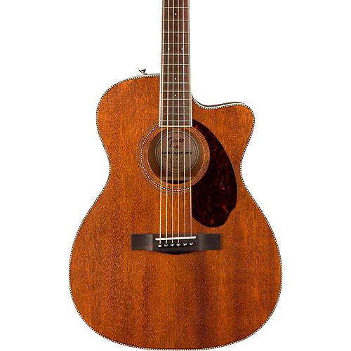 fender paramount series pm 3 standard all mahogany cutaway triple 0 acoustic guitar musician 39 s. Black Bedroom Furniture Sets. Home Design Ideas