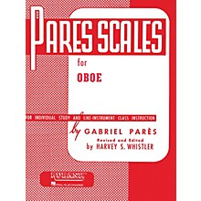 Hal Leonard Pares Scales For Oboe
