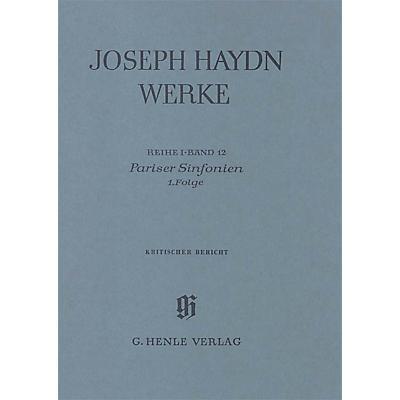 G. Henle Verlag Paris Sinfonias, 1st sequence Henle Edition Series Hardcover
