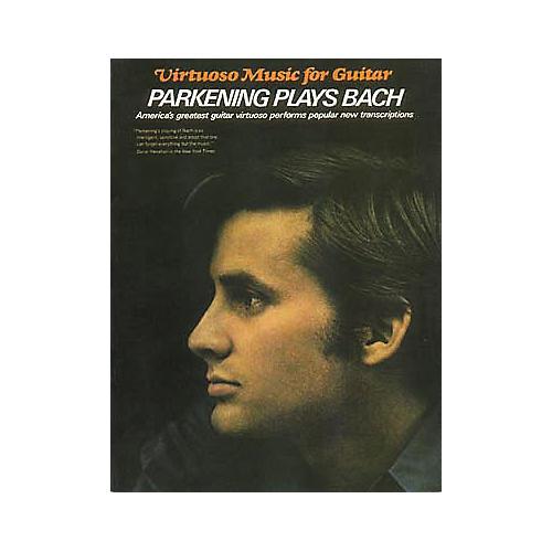 Hal Leonard Parkening Plays Bach Guitar Tab Book