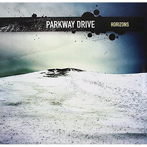 Alliance Parkway Drive - Horizons (Transparent Blue With Yellow Splatter)