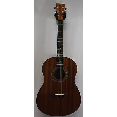 Zager Parlor E Left Handed Acoustic Electric Guitar