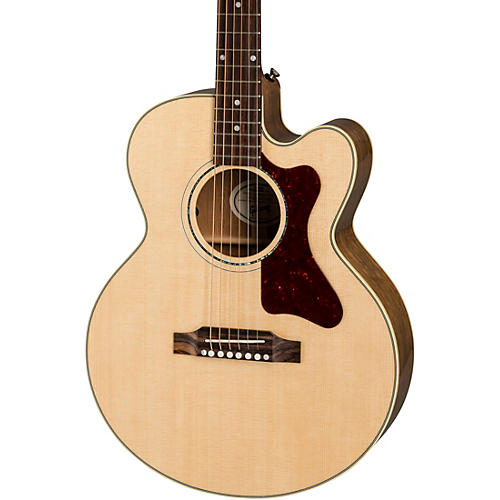 Parlor Modern Mahogany Acoustic-Electric Guitar