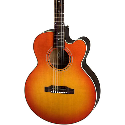 Gibson Parlor Modern Mahogany Acoustic-Electric Guitar Condition 2 - Blemished Cherry Burst 194744105708