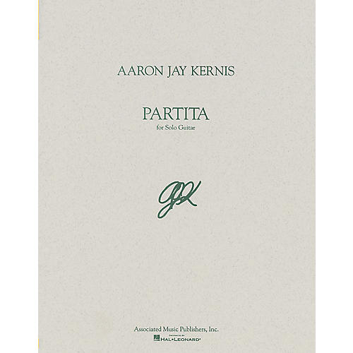 Associated Partita (Guitar Solo) Guitar Solo Series Composed by Aaron Jay Kernis