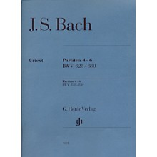 G. Henle Verlag Partitas 4-6 BWV 828-830 By Bach