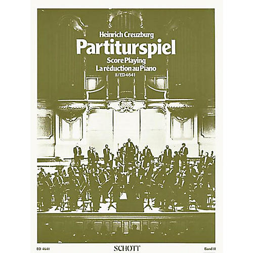 Schott Partiturspiel Old Clefs (Score Playing) (Volume 2) Schott Series