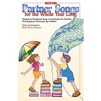 Alfred Partner Songs for the Whole Year Long Book