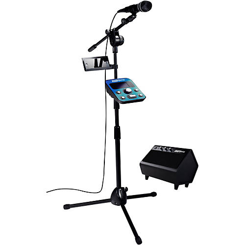 Singtrix Party Bundle Karaoke System with Mic, Mic Stand, FX module and Speaker