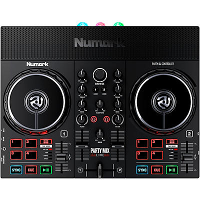 Numark Party Mix Live With Built-In Light Show and Speakers