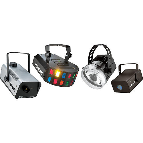 Venue Party Pack with Lighting Effects and Fog Machine