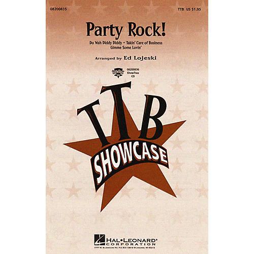 Hal Leonard Party Rock! (Medley) TTB arranged by Ed Lojeski