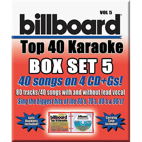Sybersound Party Tyme Karaoke - Billboard Box Set 5
