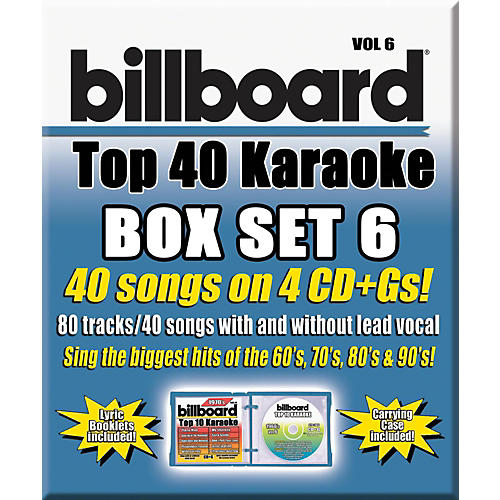 Universal Music Group Party Tyme Karaoke - Billboard Box Set 6