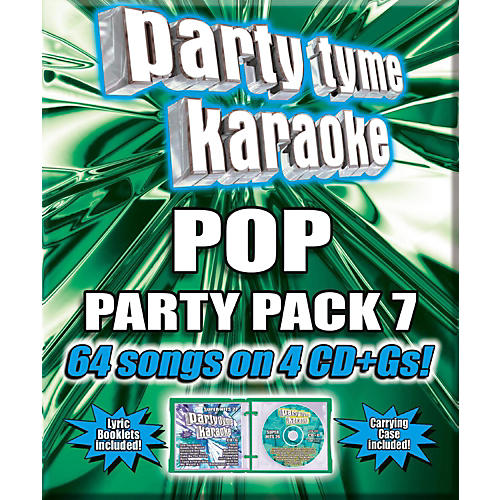 Sybersound Party Tyme Karaoke - Pop Party Pack 7 [4CD]