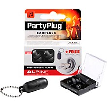 Alpine Hearing Protection PartyPlug Earplugs Black