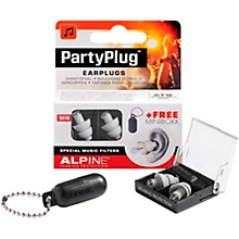 Alpine Hearing Protection PartyPlug Earplugs Silver