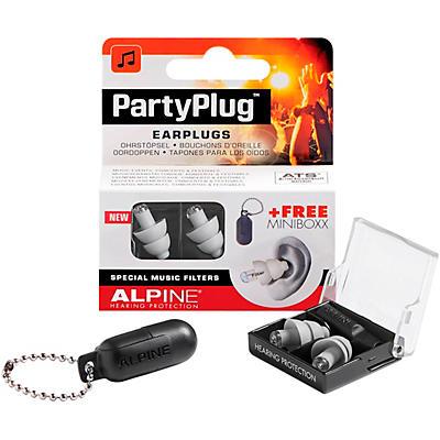 Alpine Hearing Protection PartyPlug Earplugs Silver