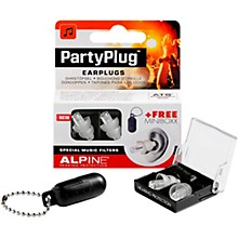 Alpine Hearing Protection PartyPlug Earplugs Transparent