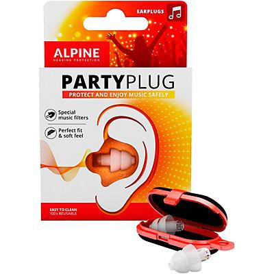 Alpine Hearing Protection PartyPlug Earplugs Transparent
