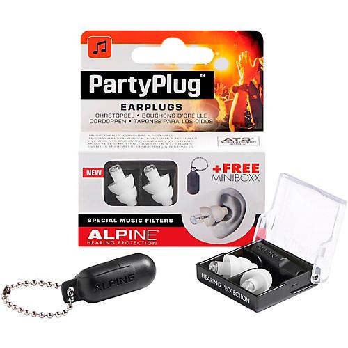 Alpine Hearing Protection PartyPlug Earplugs White