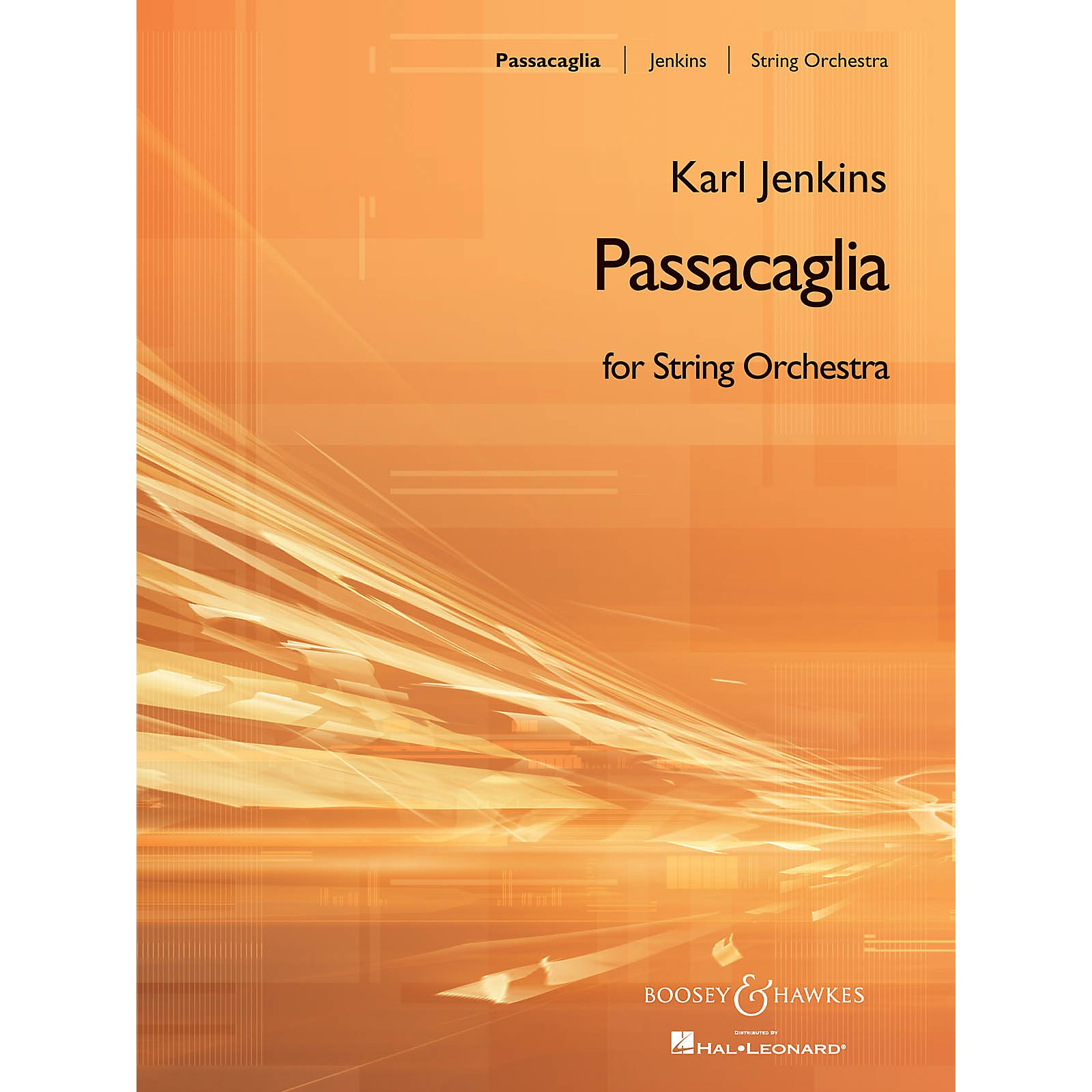 Boosey and Hawkes Passacaglia Boosey & Hawkes Orchestra Series Composed by Karl Jenkins
