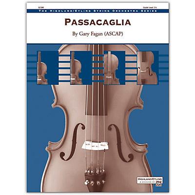 Alfred Passacaglia Conductor Score 2.5