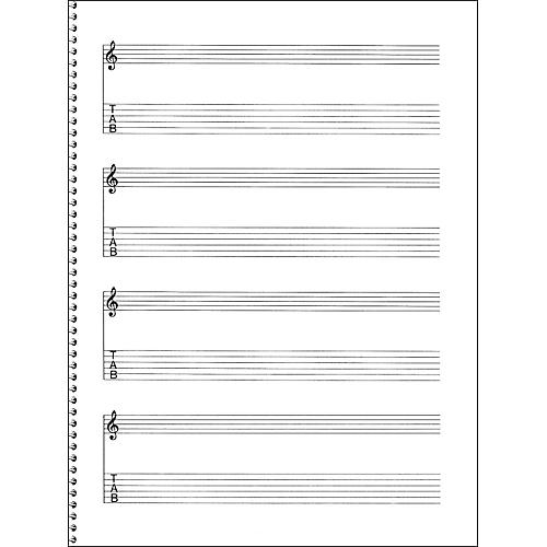 45 Best Sheet Music And Tabs Of Epicness Images On: Music Sales Passantino Guitar Manuscript Paper Spiral Pad