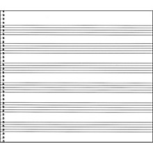 Music Sales Passantino Spiral Book #76 64 Pgs, 6 Stave Extra Wide, 8 X 7