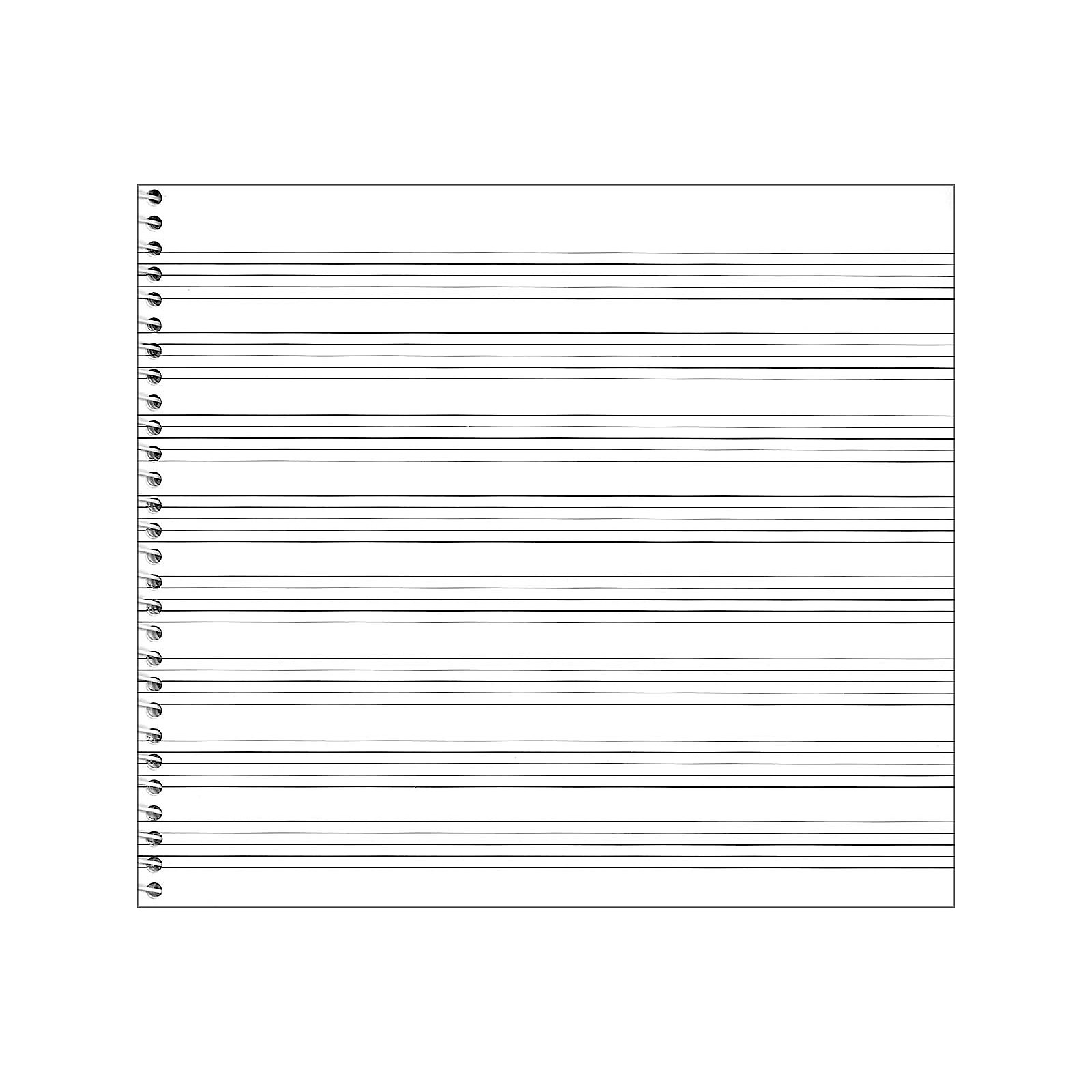 Music Sales Passantino Spiral Book No.79, 8 Stave, 64 Pages, 8X7