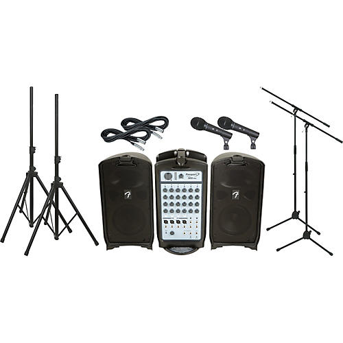 Fender Passport 300 Pro 2 Mic PA Package