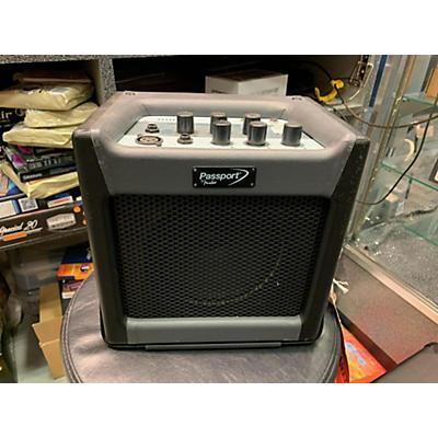 Fender Passport Mini 7W 1X8 Battery Powered Acoustic Guitar Combo Amp