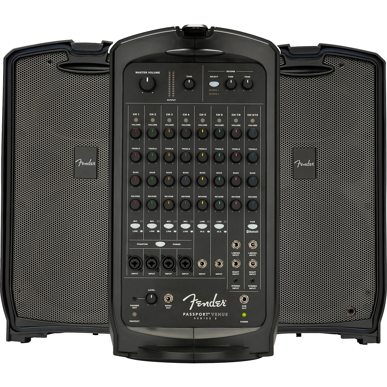 Fender Passport Venue Series 2 600W Portable PA System