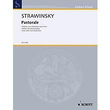 Schott Pastorale For Soprano Score   ** Schott Series