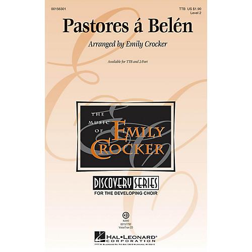 Hal Leonard Pastores á Belén (Discovery Level 2) VoiceTrax CD Arranged by Emily Crocker