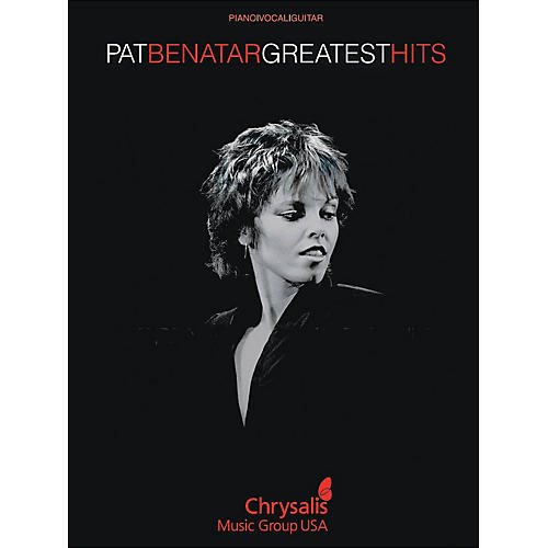Hal Leonard Pat Benatar Greatest Hits arranged for piano, vocal, and guitar (P/V/G)