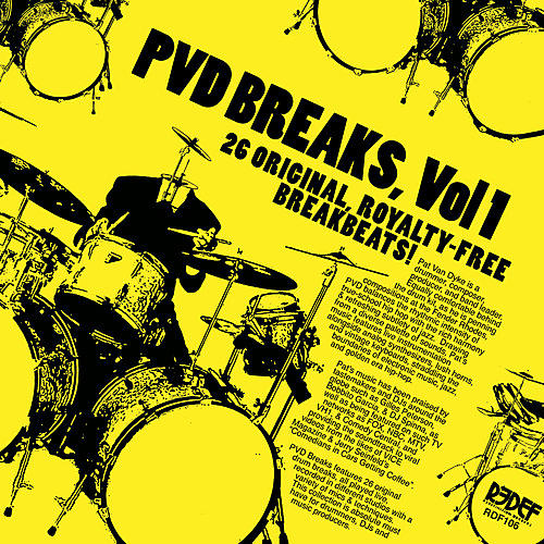 Alliance Pat Van Dyke - Pvd Breaks Vol 1 (royalty Free Breaks)