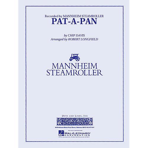 Pat-a-Pan (Mannheim Steamroller) Concert Band Level 3 Arranged by Robert Longfield