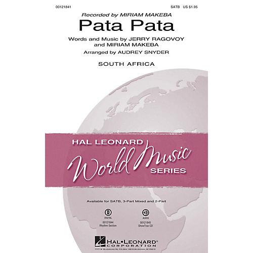 Hal Leonard Pata Pata 2-Part by Miriam Makeba Arranged by Audrey Snyder