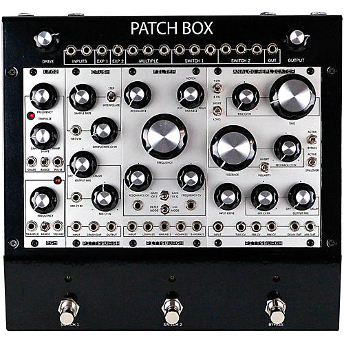 pittsburgh modular synthesizers patch box fx1 modular eurorack multi effects pedal system. Black Bedroom Furniture Sets. Home Design Ideas