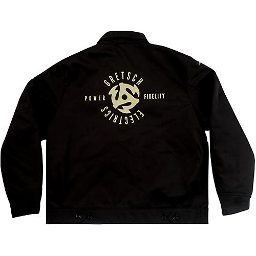 Gretsch Patch Jacket - Black Medium