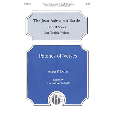 Hinshaw Music Patches of Verses 2-Part composed by Davis