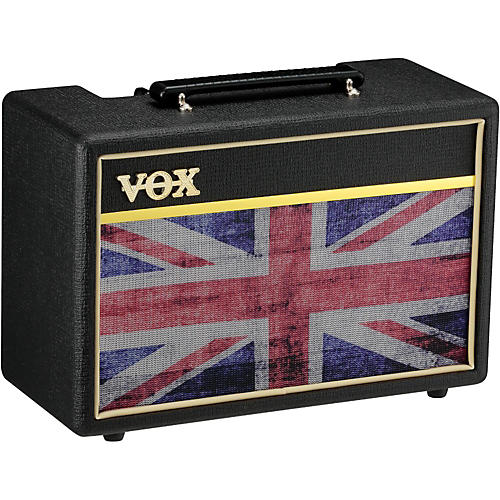 Vox Pathfinder 10 10W 1x6.5 Limited Edition Union Jack Guitar Combo Amp Black