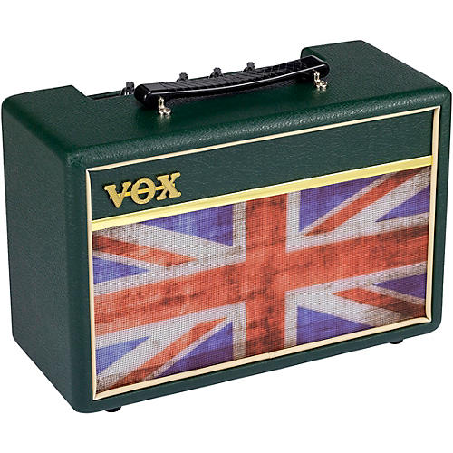 Vox Pathfinder 10 Amp With Limited-Edition Union Jack Theme British Racing Green