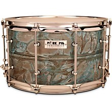 Patina Brass snare drum 14 x 8 in.