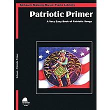 SCHAUM Patriotic Primer (Primer Level Early Elem Level) Educational Piano Book