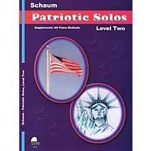 SCHAUM Patriotic Solos (Level 2 Upper Elem) Educational Piano Book