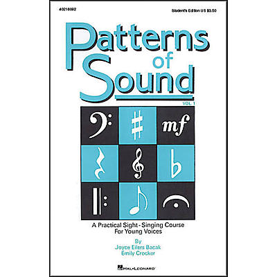 Hal Leonard Patterns Of Sound Vol 1 Student's Edition